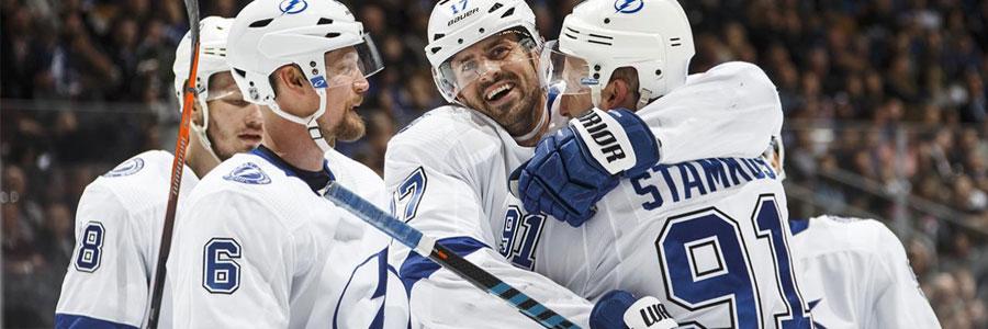 Lightning vs Wild 2020 NHL Betting Spread & Preview.
