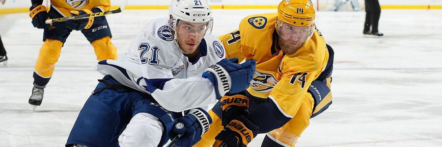 The Lightning should be one of your NHL Betting picks of the week.