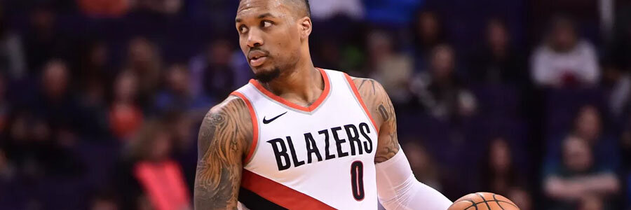 Damian Lillard and the Blazers look like a safe NBA Betting pick to win.