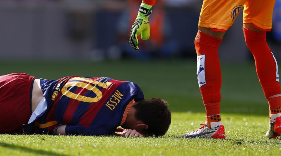 Lionel Messi Injury