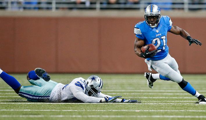 Lions vs Cowboys NFL 2014