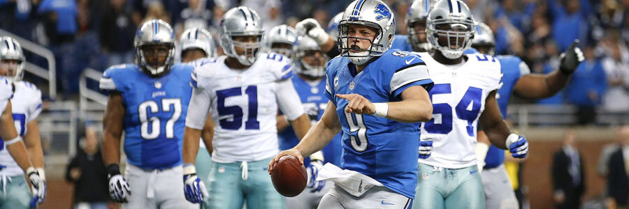 The Lions are underdogs against the Cowboys in NFL Week 4.