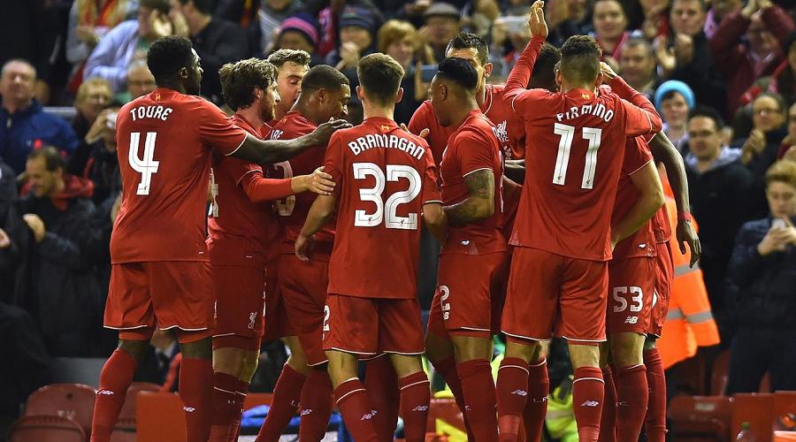Liverpool FC Goal Celebration