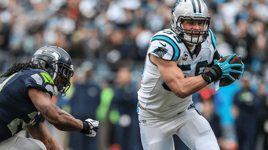 Luke Kuechly is Carolina's personal own defensive beast, Broncos beware.
