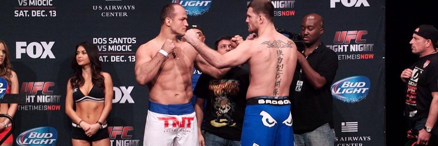 MAY 11 - UFC 211 Miocic Vs Dos Santos 2 Main Card Predictions