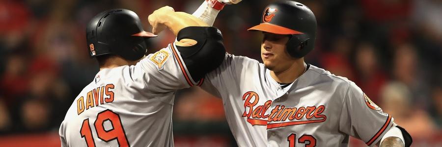 Baltimore will send Ubaldo Jimenez (5-7, 6.25 ERA) to start this game to make them the favorites of the MLB picks.