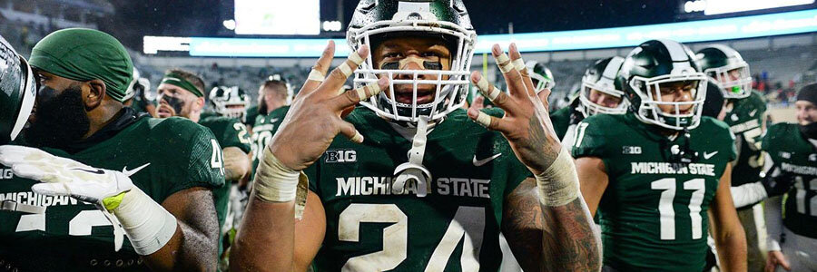 Michigan State is one of the favorites for College Football Week 4.