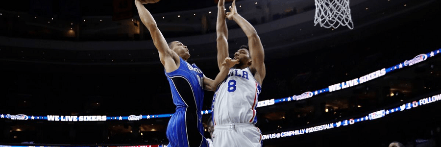 The Magic had almost no problems dispatching the 76ers.