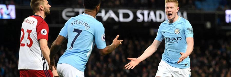 Manchester City vs Leicester City 2019 English Premier League Lines & Pick.