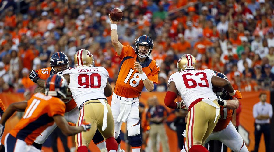 Manning vs 49ers