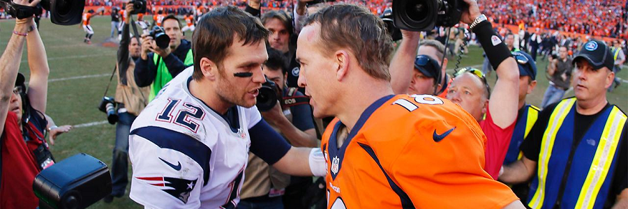 Manning vs Brady AFC Rivalry NFL Odds