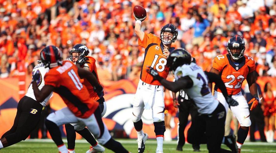 Manning vs Ravens