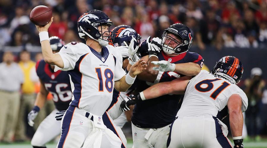 Manning vs Texans