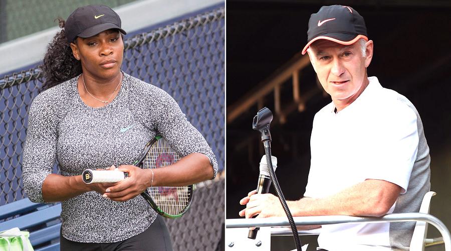 McEnroe vs Serena