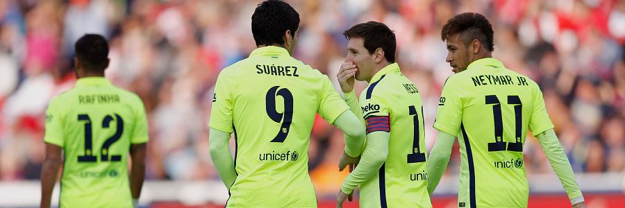 Messi, Suarez y Neymar