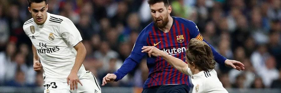 Real Madrid vs Barcelona La Liga Odds, Preview & Pick.