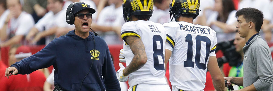 2019 Rutgers vs Michigan College Football Week 5 Betting Lines & Preview.