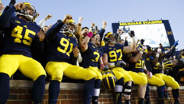 Michigan Wolverines players