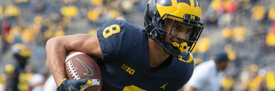 Middle Tennessee vs Michigan 2019 College Football Week 1 Betting Lines & Pick.