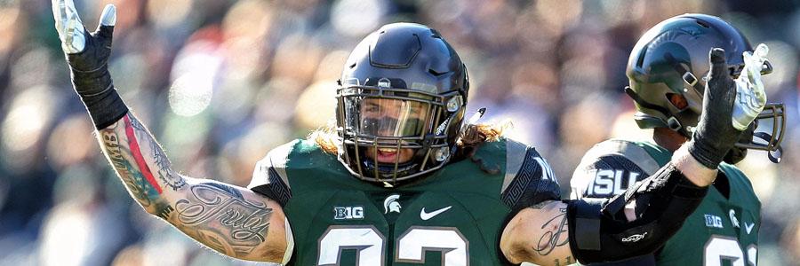 Michigan State vs Penn State NCAA Football Week 7 Odds