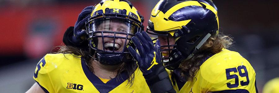 Western Michigan vs Michigan NCAA Football Week 2 Lines.