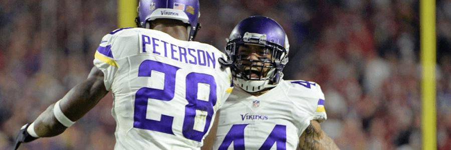 If Adrian Peterson is in his element, then the Seahawks will have to do a lot of chasing.