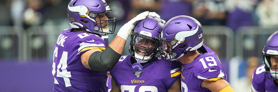 Minnesota Vikings NFL Odds After Free Agency Week 1
