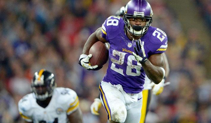 Minnesota Vikings Adrian Peterson