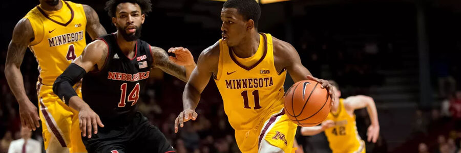 Minnesota comes in as the underdog at the NCAAB Odds against Michigan State.