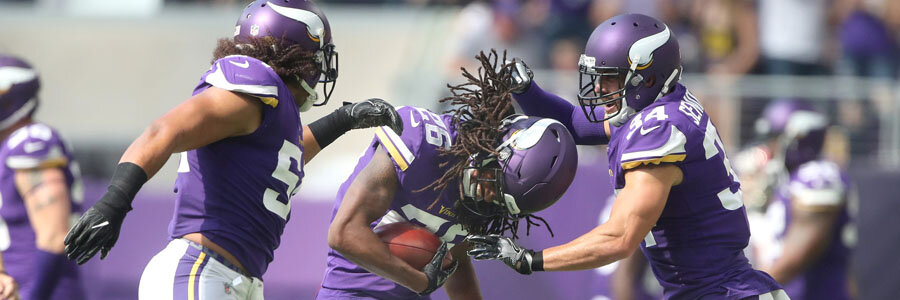 How to Bet Vikings at Redskins Week 10 NFL Lines & Pick.