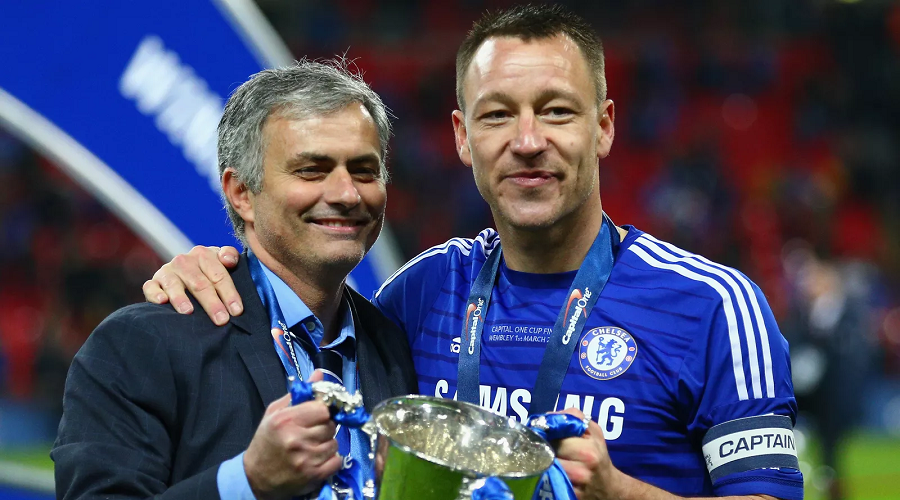 Mourinho and Terry