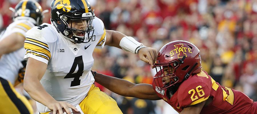 NCAA Football: Iowa Hawkeyes at Iowa State Betting Analysis