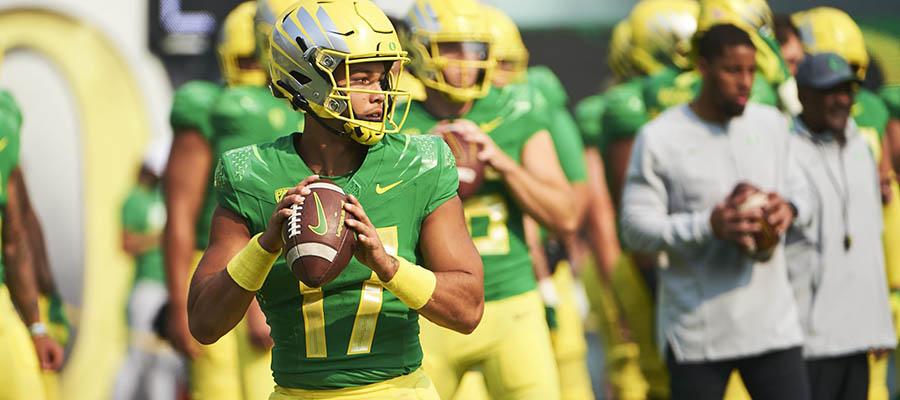 NCAAF 2021 Regular Season: Arizona vs Oregon Betting Analysis & Prediction