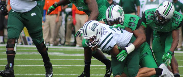 Marshall vs. Ohio NCAA Football Betting Rivalry Battle Preview