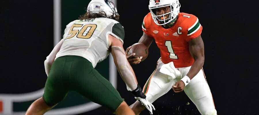 NCAAF Betting Predictions - Top 25 Rankings