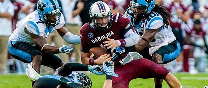 S. Carolina vs. N. Carolina NCAA Football Odds Rivalry Explained