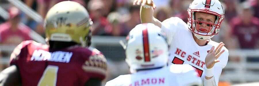 Despite playing at home, NC State is no favorite at the College Football Lines for Week 10.