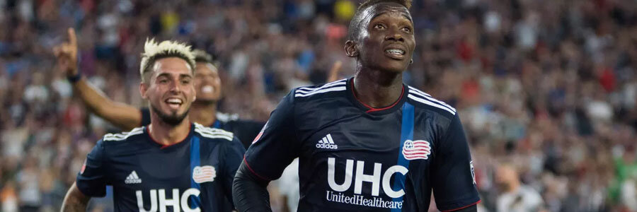 New England is the underdog at the MLS Odds against New York.