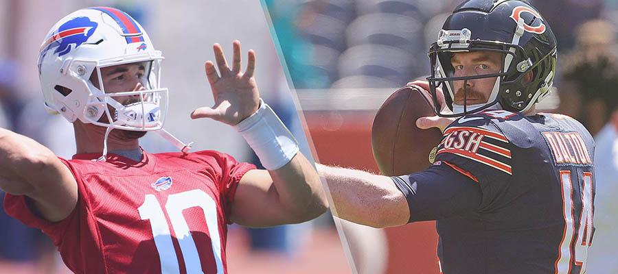 NFL 2021 Preseason: Bills vs Bears Betting Analysis