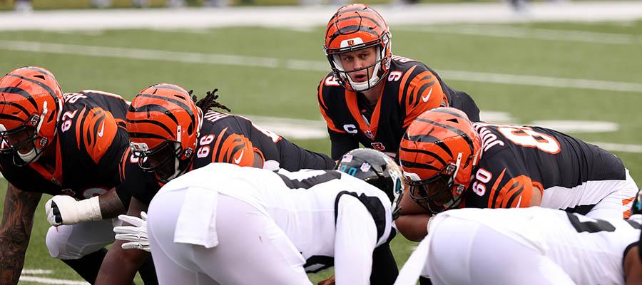 NFL 2021 Regular Season: Jacksonville Jaguars at Cincinnati Betting Analysis