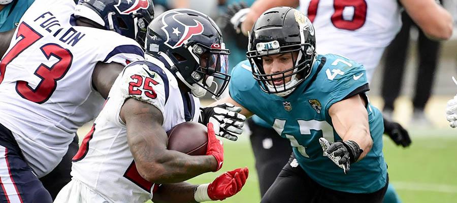 NFL 2021 Regular Season: Jaguars vs Texans Betting Analysis & Prediction