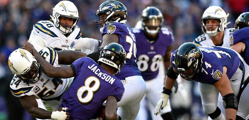 NFL 2021 Season: LA Chargers at Baltimore Betting Analysis
