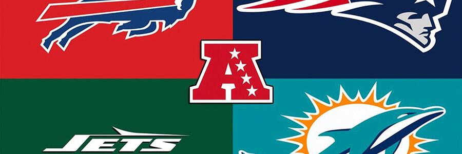NFL AFC East Divisional Odds After Draft