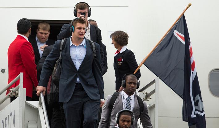 NFL Airport Patriots