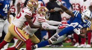 NFL Indianapolis Colts at San Francisco Betting Analysis - Week 7