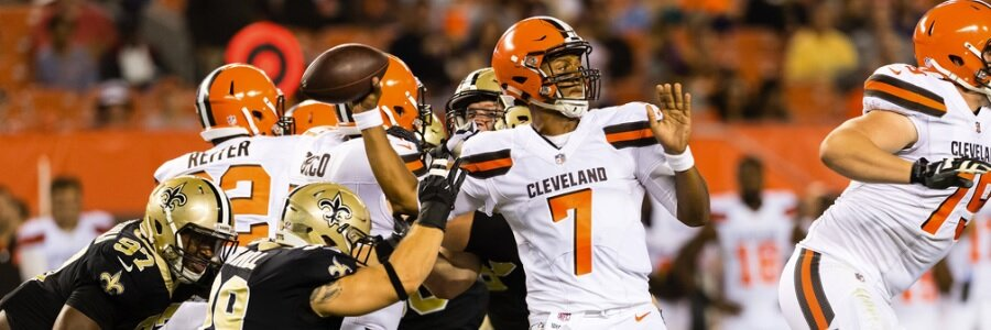 NFL Lines Cleveland continues to evaluate its signal callers and who might be the best fit to lead the team this fall.
