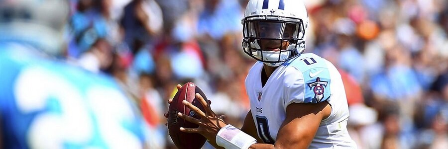 Titans Face the Ravens With the NFL Betting Lines for Week 9 In Their Favor.
