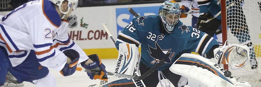 NHL Playoffs Shark vs Oilers