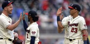 NL Division Series Game 1 Braves vs Brewers