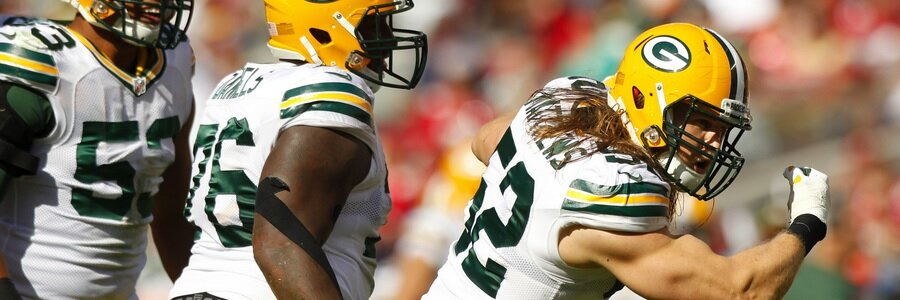 Who's the favorite at the NFL Week 10 Odds between Packers and Bears?